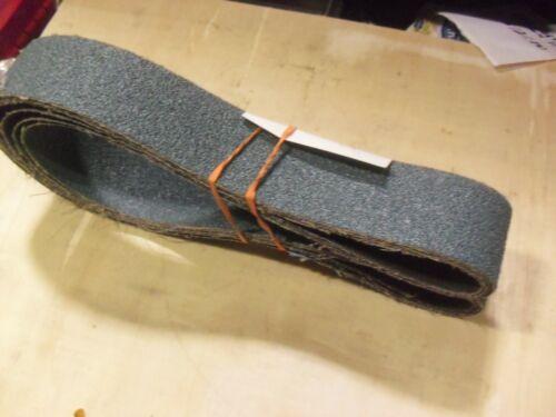 """FOUR !!! Deerfos 2"""" x 60"""" x 40 Grit Zirconia Sanding Belts"""