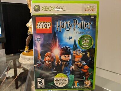 LEGO Harry Potter: Years 1-4 Microsoft Xbox 360 2010 X360 Brand New Sealed