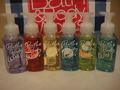 Bath and Body Works Gentle Foaming Liquid Hand Soap 8.75 fl oz  (FREE SHIPPING )