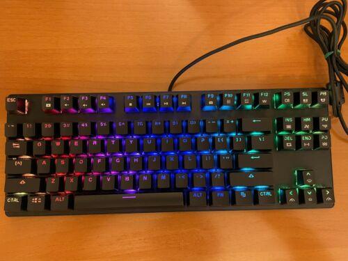 87-keyboard Drevo Tyrfing V2 Wired RGB Tenkeyless Mechanical,four color switches