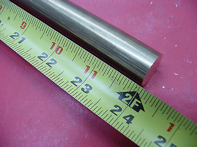 34 C360 Brass Solid Round Rod 24 Long New Lathe Bar Stock H02 .750