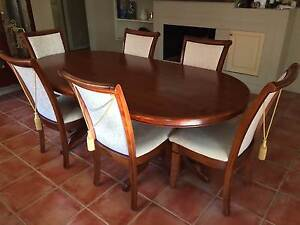 Dining Table - Teak - 6-8 seater Kenmore Brisbane North West Preview