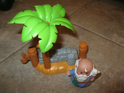 Fisher Price Little people Nativity Palm Tree wall island Noah