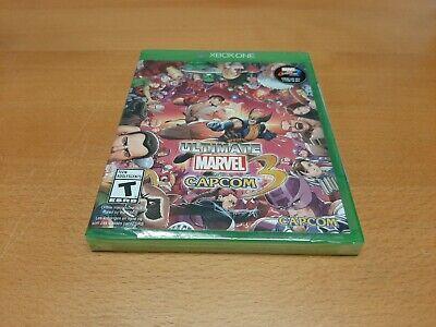 Brand New Ultimate Marvel Vs. Capcom 3 Xbox