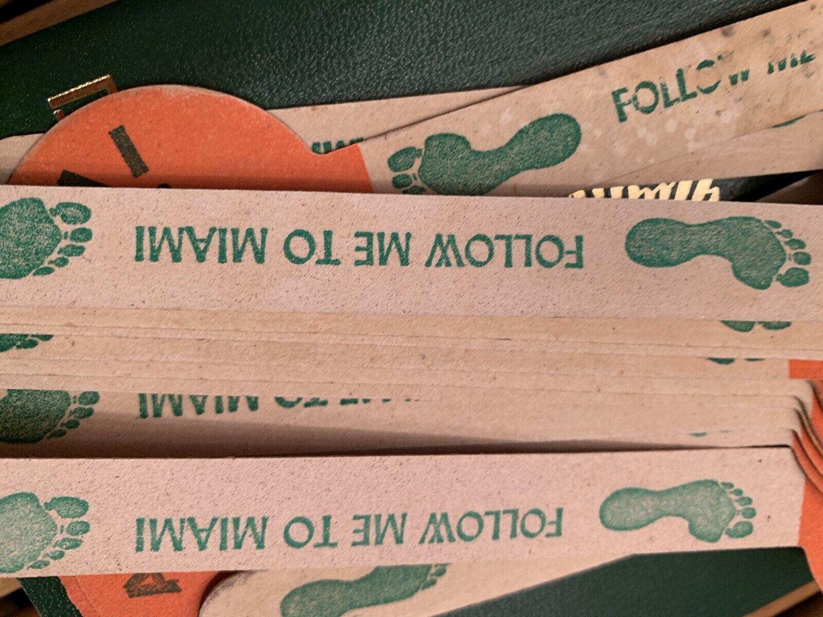 4 Miami Florida Vintage Souvenir Follow Me To Miami Nail Files - $10.00