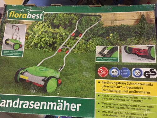 handrasenmäher Florabest Rasenmäher