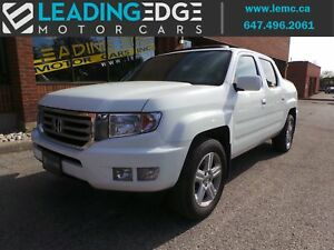2013 Honda Ridgeline Touring Navigation, Leather, Sunroof