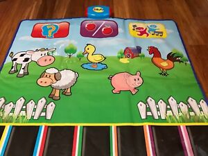 Activity mat sings/talks as you step on - 10$