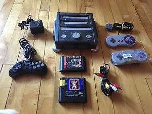 Retron 3 for sale with 3 controllers and 2 games