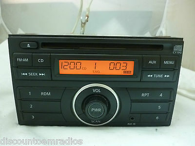 11 12 2011 2012 Nissan Versa Radio Cd Player OEM 28185-3AN0A CY19G Bulk 629