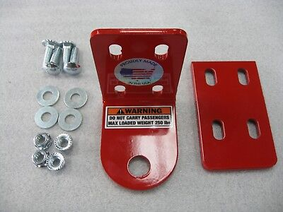 Snapper Pro Zero Turn Mower Trailer Hitch. Made In The USA By The Mower Doctor