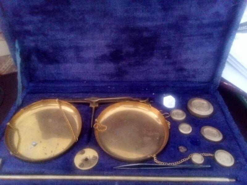 antique scales set