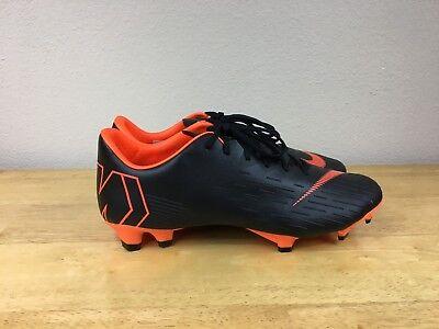 a172148132e5 Nike Mercurial Vapor XII Pro FG Soccer Cleats Orange/Black AH7382-081 Sz 7