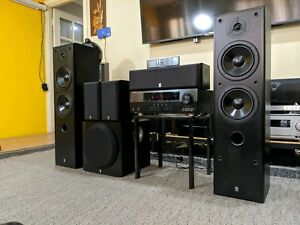 Complete Yamaha Home Theater System at throw away price