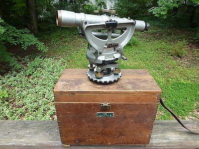 Vintage 1957 Ke Keuffel Esser Optical Paragon Jig Transit Level Scope Np5155