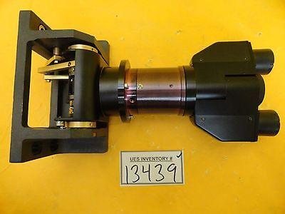 Nikon Optistation 3 Binocular Lens Eyepiece Microscope Assembly Used Working