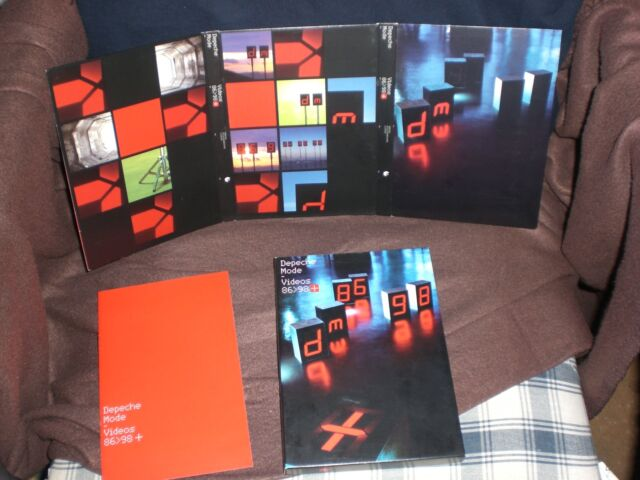 Depeche Mode The Videos 86 bis 98 86 > 98 Pappschuber-Ausgabe! Deluxe Edition