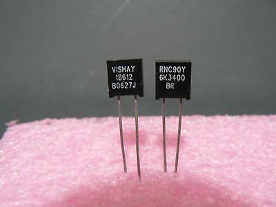 4 Pcs. Rnc90y Series Vishay Metal Foil Resistor Rnc90y6k3400br Us Seller