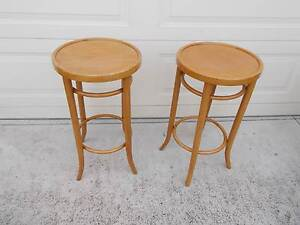Vintage Bentwood Bar Stools Kitchen Breakfst Bench Chairs Cranbourne East Casey Area Preview
