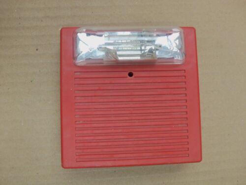 Wheelock AS-241575W Fire Alarm Audible Signal Strobe