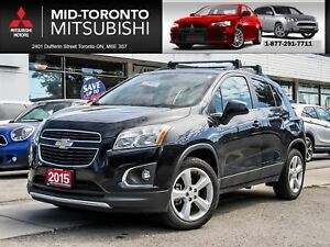 2015 Chevrolet Trax LTZ AWD|Leather|Sunroof|Back Up Camera