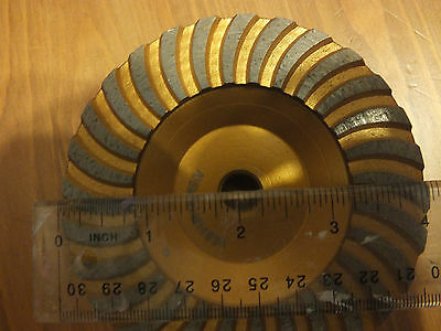 Turbo Diamond Grinder Wheel 4 - 58 - 11 Threads