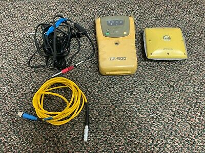 Topcon Gb-500 Gnss Gps Receiver And Pg-a1 Gps Gnss Antenna Glonass Enabled