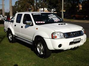 2009 Nissan Navara ST-R Manual Ute Leumeah Campbelltown Area Preview