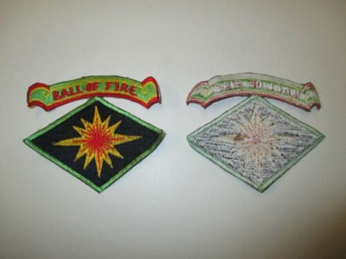 e3339 US Army Korea 40th Infantry Division With Tab Ball OF Fire   R21E2