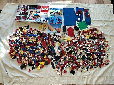 12+ lb HUGE Vintage 1970s 80s LEGO Lot Building Set 114 LEGOLAND Classics POLICE