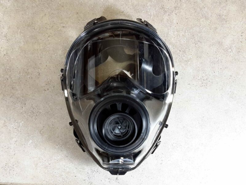40mm NATO SGE 150 Next-Gen Gas Mask -Modern NBC Protection -Sealed MADE IN 2021
