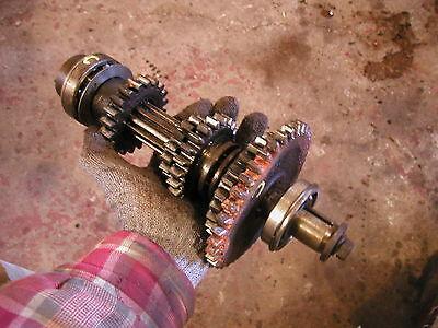 Farmall C Tractor Good Working Upper Top Transmission Gears Drive Shaft Beari