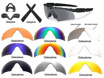 Galaxy Replacement Lens For Oakley Si Ballistic M Frame 2.0 Z87 (Oakley M Frame Lens)