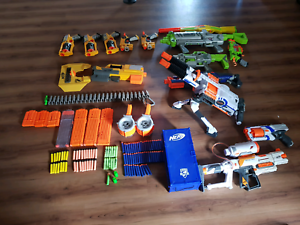 Bulk Nerf Gun Collection