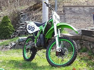 Kx125 with papers. Trade for atv