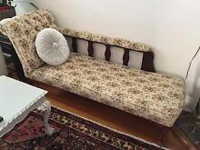 Original Vintage Chaise Lounge Earlwood Canterbury Area Preview