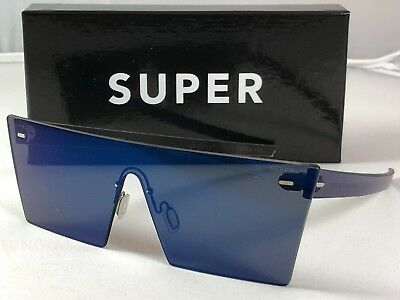 SALE Retrosuperfuture Tuttolente W Blue Frame Sunglasses SUPER MIM 58mm NIB