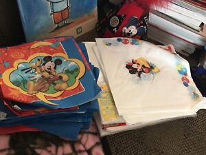 Mickey Mouse 1st Birthday Lot