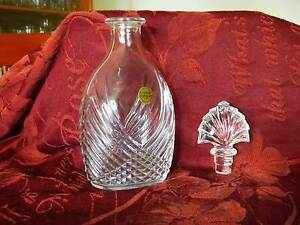 Crystal D'Arques French Decanter 0.75L Chadstone Monash Area Preview