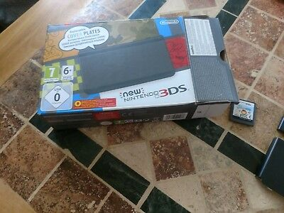 Zire Handheld (Nintendo 3DS  Handheld-Spielkonsole (PAL) in Schwarz mit Zierblenden etc.)