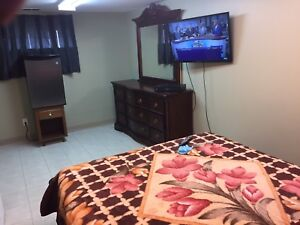 Furnished Room Available For Weekly Rental