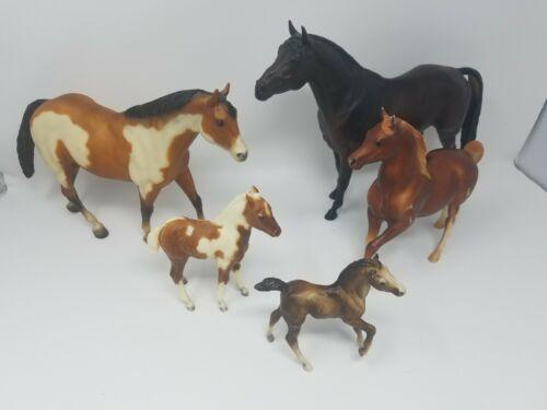 Vintage Breyer Horse Lot of 5 Mixed Horses Decent Condition Lot #6
