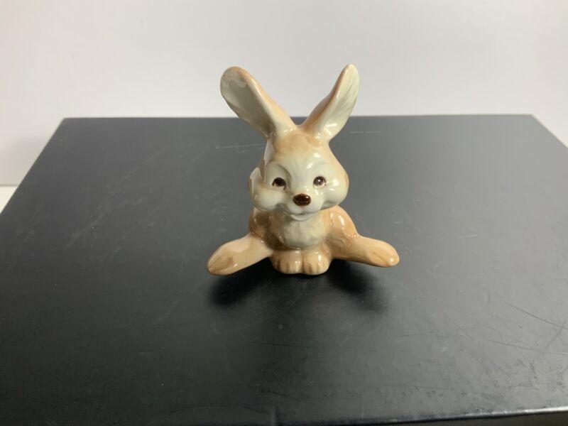 "Goebel Happy Bunny Rabbit Figurine Made In West Germany 2.5"""