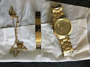 Gold collectables Watch, etc