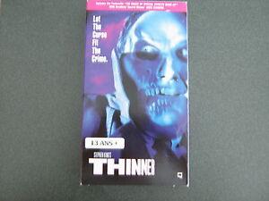 *** THINNER *** DE STEPHEN KING *** VHS ANGLAIS Saguenay Saguenay-Lac-Saint-Jean image 1