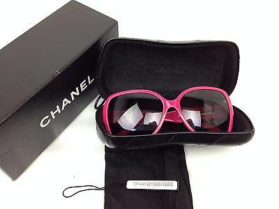 Auth CHANEL Sunglasses Pink Frame 5230QA 1349/3P 60□16 135 7A310850m