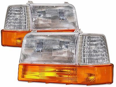 NEWMAR MOUNTAIN AIRE 1997 1998 1999 2000 2001 HEADLIGHTS LAMPS  SIGNALS 6PCS SET