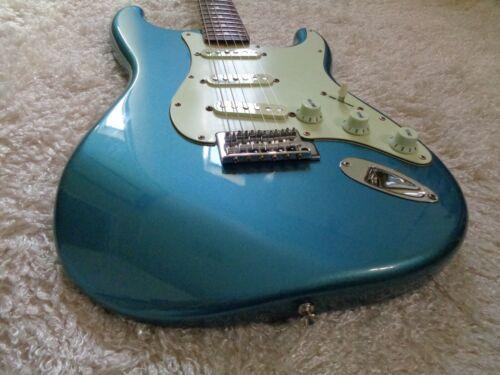 2009 Fender stratocaster standard MIM Lake placid blue guitar Lindy Fralin Pup