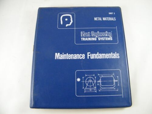 TPC TRAINING SYSTEMS TRAINEES GUIDE TO METAL MATERIALS 10 LESSONS 160 PAGES