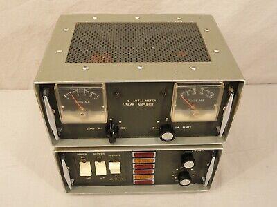 VTG TUBE 6-10/11 M LINEAR AMPLIFIER POWER SUPPLY CB/HAM RADIO AMP KIT HOMEMADE?